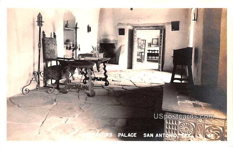 Governors Palace - San Antonio, Texas TX Postcard
