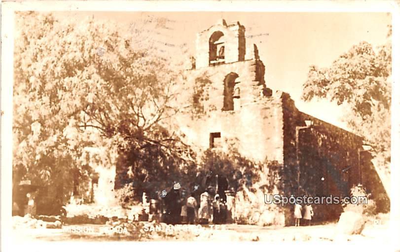 Mission Espada - San Antonio, Texas TX Postcard