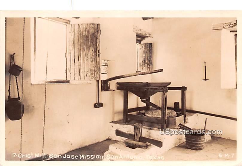 Grist Mill - San Antonio, Texas TX Postcard