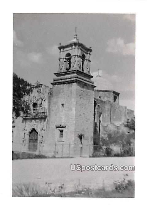 Old Brick Building - San Antonio, Texas TX Postcard