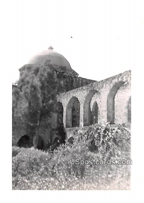 Brick Archways - San Antonio, Texas TX Postcard