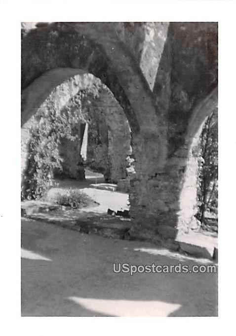 Arch Walkway - San Antonio, Texas TX Postcard