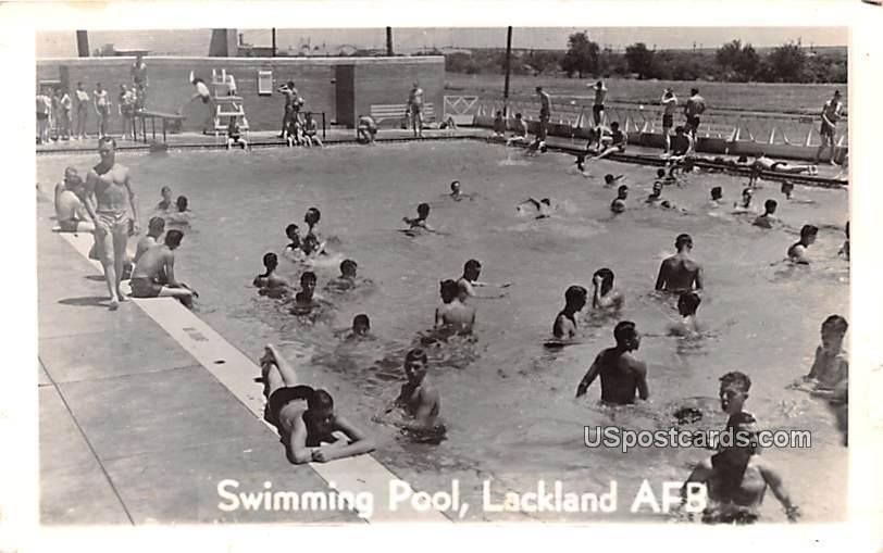 Swimming Pool - San Antonio, Texas TX Postcard