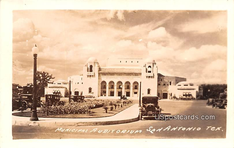 Municipal Auditorium - San Antonio, Texas TX Postcard