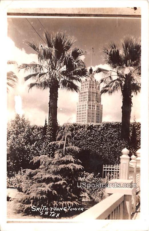 Smith Young Tower - San Antonio, Texas TX Postcard