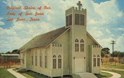 Shrine Of San Juan - Texas TX Postcard