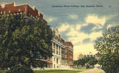 Incarnate Word College - San Antonio, Texas TX Postcard
