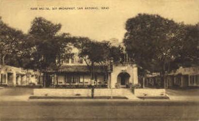 Park Motel - San Antonio, Texas TX Postcard