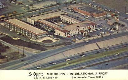 La Quinta Motel - San Antonio, Texas TX Postcard