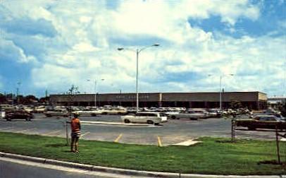 Main Post Exchange - San Antonio, Texas TX Postcard