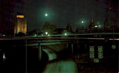 Expressway - San Antonio, Texas TX Postcard