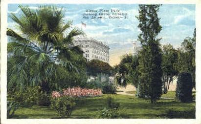 Alamo Plaza - San Antonio, Texas TX Postcard