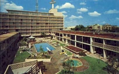 El Tropicano Motor Hotel - San Antonio, Texas TX Postcard
