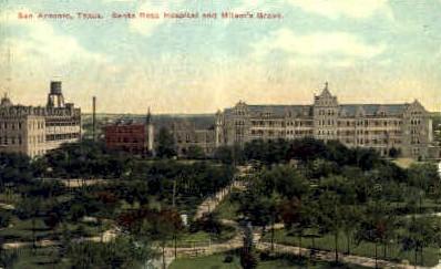 Santa Rosa Hospital - San Antonio, Texas TX Postcard