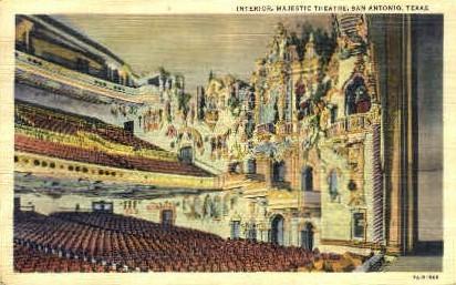 Majestic Theatre - San Antonio, Texas TX Postcard