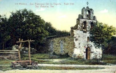 Fourth Mission - San Antonio, Texas TX Postcard