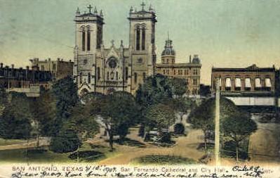 San Fernando Cathedral - San Antonio, Texas TX Postcard