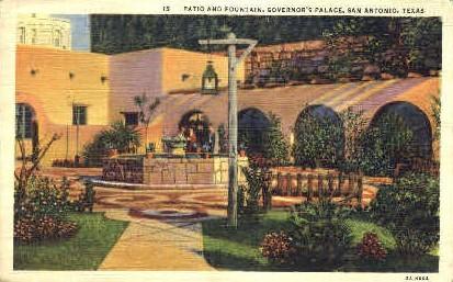 Spanish Governor's Place - San Antonio, Texas TX Postcard