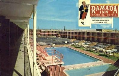 Ramada Inn - San Antonio, Texas TX Postcard