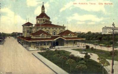 City Market - San Antonio, Texas TX Postcard