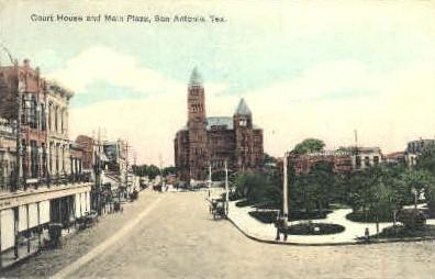 Court House - San Antonio, Texas TX Postcard