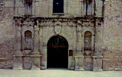 The Alamo Doorway - San Antonio, Texas TX Postcard