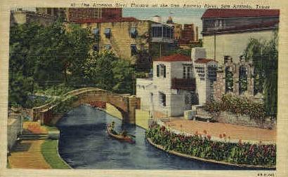 The Arneson River Theater - San Antonio, Texas TX Postcard