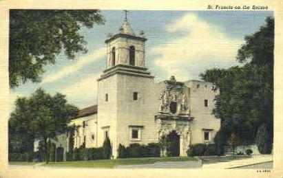 St. Francis on the Brazos - San Antonio, Texas TX Postcard