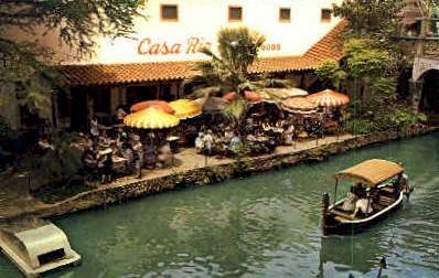 Casa Rio - San Antonio, Texas TX Postcard
