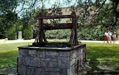Well of the Alamo - San Antonio, Texas TX Postcard