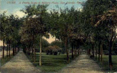 Military Plaza - San Antonio, Texas TX Postcard