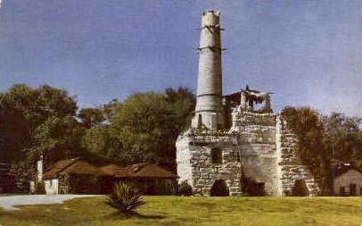 Old Tower - San Antonio, Texas TX Postcard