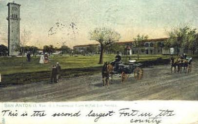 U. S. Government Tower - San Antonio, Texas TX Postcard