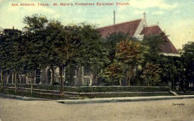 St. Mark's Episcopal Church - San Antonio, Texas TX Postcard