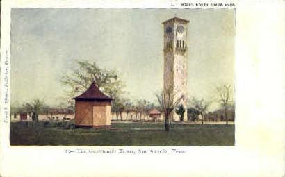 Government Tower - San Antonio, Texas TX Postcard