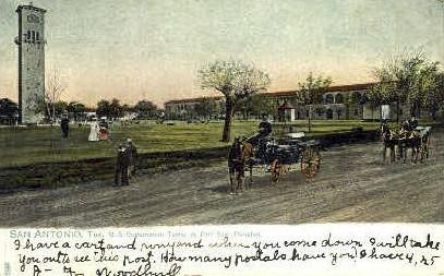 Fort Sam Houston - San Antonio, Texas TX Postcard