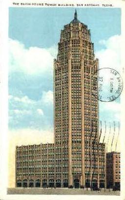 Smith-Young Tower Building - San Antonio, Texas TX Postcard
