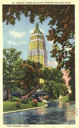 Transit Tower Building - San Antonio, Texas TX Postcard