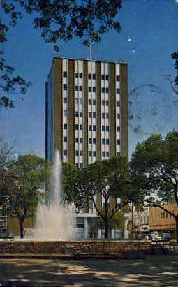 Dancing Fountain - San Antonio, Texas TX Postcard