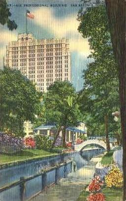 Nix Professional Building - San Antonio, Texas TX Postcard