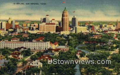 San Antonio, Texas      ;     San Antonio, TX Postcard
