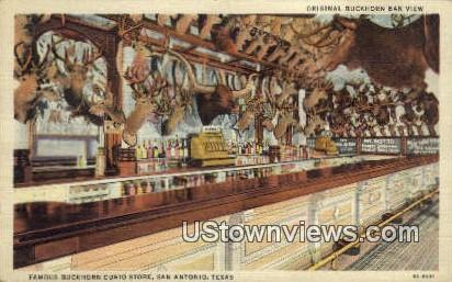 Buckhorn Curio Store - San Antonio, Texas TX Postcard