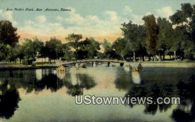 San Pedro Park - San Antonio, Texas TX Postcard