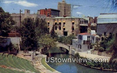 River Theatre on the Banks - San Antonio, Texas TX Postcard