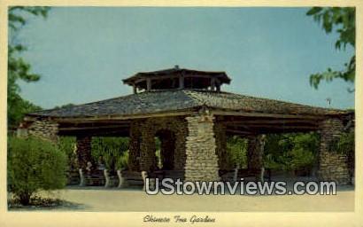 Chinese Tea Garden - San Antonio, Texas TX Postcard