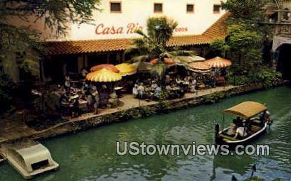 Casa Rio Mexican Restaurant - San Antonio, Texas TX Postcard
