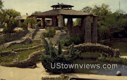 Sunken Gardens - San Antonio, Texas TX Postcard