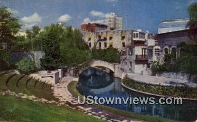 River Theatre - San Antonio, Texas TX Postcard