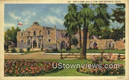 The Alamo, 1718 - San Antonio, Texas TX Postcard