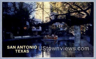 Riverwalk - San Antonio, Texas TX Postcard